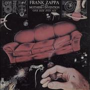 Click here for more info about 'Frank Zappa - One Size Fits All'