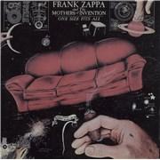 Frank Zappa One Size Fits All USA CD album