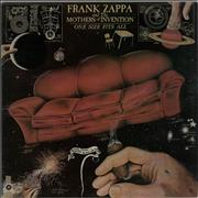 Frank Zappa One Size Fits All - EX UK vinyl LP