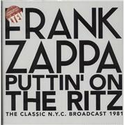 Frank Zappa Puttin' On The Ritz - White/Rainbow Splatter Vinyl UK vinyl box set