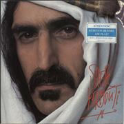 Click here for more info about 'Frank Zappa - Sheik Yerbouti + Air Play Warning Sticker'