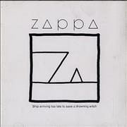 Click here for more info about 'Frank Zappa - Ship Arriving Too Late To Save A Drowning'