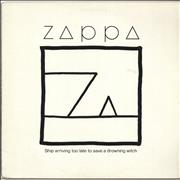 Click here for more info about 'Frank Zappa - Ship Arriving Too Late To Save A Drowning Witch - EX'