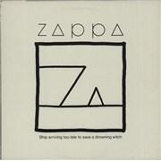 Frank Zappa Ship Arriving Too Late UK vinyl LP