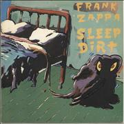 Frank Zappa Sleep Dirt UK vinyl LP