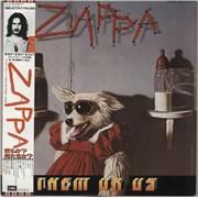 Frank Zappa Them Or Us Japan 2-LP vinyl set