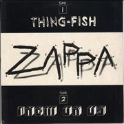 Click here for more info about 'Frank Zappa - Thing-Fish & Them Or Us Sampler - EX'