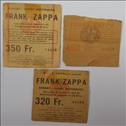 Click here for more info about 'Frank Zappa - Ticket Stubs & Stickers'