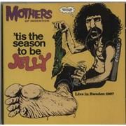 Frank Zappa 'Tis The Season To Be Jelly UK CD album