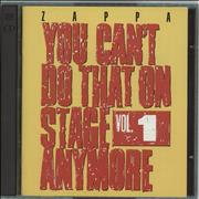Click here for more info about 'Frank Zappa - You Can't Do That On Stage Anymore Vol. 1'