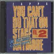 Click here for more info about 'Frank Zappa - You Can't Do That On Stage Anymore Vol. 2'
