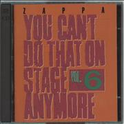 Click here for more info about 'Frank Zappa - You Can't Do That On Stage Anymore Vol. 6'