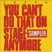 Click here for more info about 'Frank Zappa - You Can't Do That On Stage Anymore Sampler '