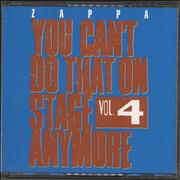 Click here for more info about 'Frank Zappa - You Can't Do That On Stage Anymore Vol. 4'