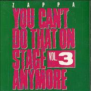 Click here for more info about 'Frank Zappa - You Can't Do That On Stage Vol 3'