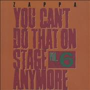 Click here for more info about 'Frank Zappa - You Can't Do That On Stage Vol 6'