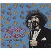 Frank Zappa Zappa En La Radio (Zappa On The Radio) Argentina CD album Promo