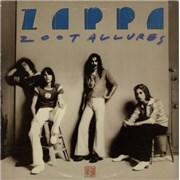 Frank Zappa Zoot Allures USA vinyl LP