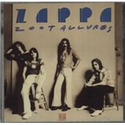 Frank Zappa Zoot Allures USA CD album