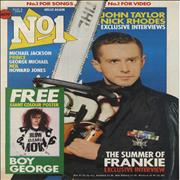 Frankie Goes To Hollywood No 1 - August 1984 UK magazine