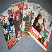 Frankie Goes To Hollywood No 1 - Set Of 4 UK magazine