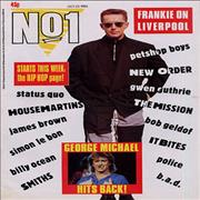 Frankie Goes To Hollywood No 1 UK magazine