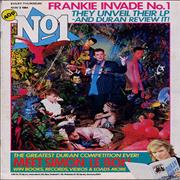 Frankie Goes To Hollywood No.1 - Number 1 UK magazine