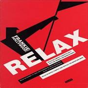 Frankie Goes To Hollywood Relax - Showcard Display UK display