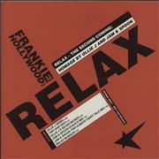 """Frankie Goes To Hollywood Relax - The Second Coming UK 12"""" vinyl Promo"""