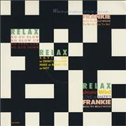 "Frankie Goes To Hollywood Relax - Unique Sleeve USA 12"" vinyl"