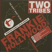 """Frankie Goes To Hollywood Two Tribes - Double Pack UK 12"""" vinyl Promo"""