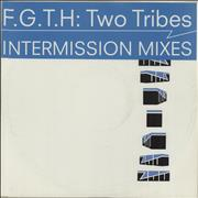 """Frankie Goes To Hollywood Two Tribes - Intermission Mixes UK 12"""" vinyl Promo"""