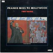 """Frankie Goes To Hollywood Two Tribes - signed UK 12"""" vinyl"""