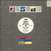 """Frankie Goes To Hollywood Two Tribes (Hibakusha) - EX UK 12"""" vinyl"""