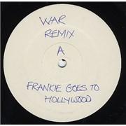 "Frankie Goes To Hollywood War Remix - Test Pressing UK 12"" vinyl"