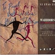 """Frankie Goes To Hollywood Warriors - autographed UK 12"""" vinyl"""
