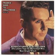 """Frankie Goes To Hollywood Beobachtungen Im Wilden Leben UK 12"""" vinyl"""