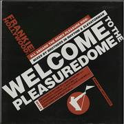 """Frankie Goes To Hollywood Welcome To The Pleasuredome - Double UK 12"""" vinyl Promo"""