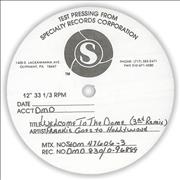 "Frankie Goes To Hollywood Welcome To The Pleasuredome - Test Pressing USA 12"" vinyl"