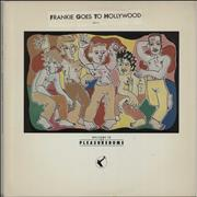 Click here for more info about 'Frankie Goes To Hollywood - Welcome To The Pleasuredome - stickered & gold stamp'