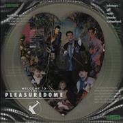 Frankie Goes To Hollywood Welcome To The Pleasuredome UK picture disc LP