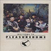 Frankie Goes To Hollywood Welcome To The Pleasuredome UK cassette album