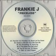 Click here for more info about 'Frankie J - Priceless'