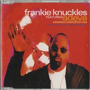 Click here for more info about 'Frankie Knuckles - Whadda U Want [From Me]'