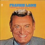 Click here for more info about 'Frankie Laine - I Wanted Someone To Love'