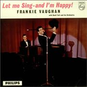 Click here for more info about 'Frankie Vaughan - Let Me Sing - And I'm Happy! - Factory Sample'