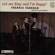 Click here for more info about 'Frankie Vaughan - Let Me Sing - And I'm Happy'
