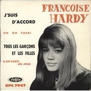 Click here for more info about 'Françoise Hardy - J'Suis D'accord / Tous Les Garçons Et Les Filles EP - 3pr'