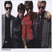 Click here for more info about 'Franz Ferdinand - Autographed Photo'