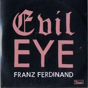Click here for more info about 'Franz Ferdinand - Evil Eye - 1-track & 2-track'